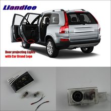 LiandleCar Door Ghost Shadow Lights For Volvo XC90 / XC60 2012~2014 Courtesy Doors Lamp / Brand Logo LED Projector Welcome Light цена