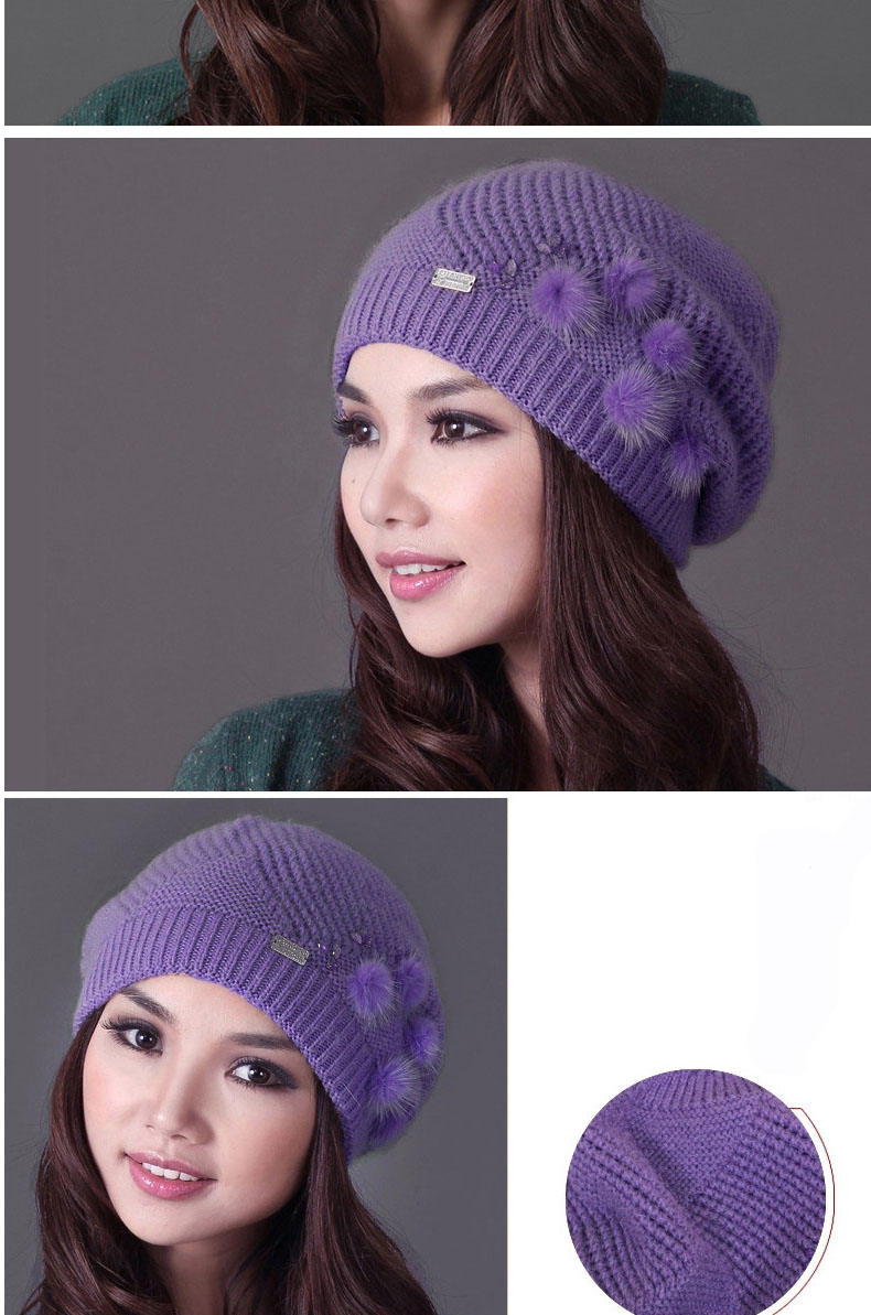 Hat Elegant Wool Women 12