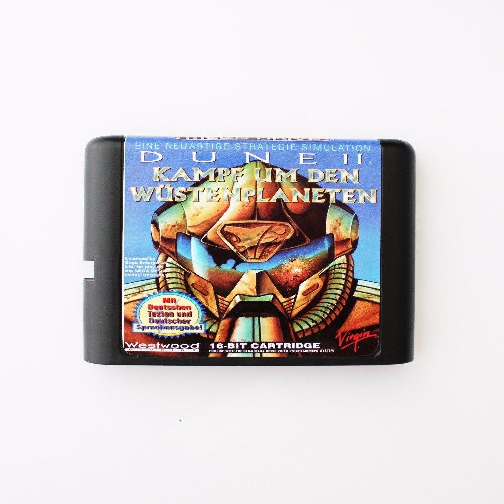 Dune 16 bit SEGA MD Game Card For Sega Mega Drive For Genesis