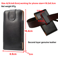 Rotary Holster Belt Cllip Second Layer Genuine Leather Pouch Case For Galaxy J4 J6 S8 S9 S10 S7 S6 Edge Plus J4+ J6+ S10e S10 5G