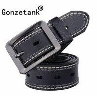 GONZETANNK 2017 New Hot Brand Men S Designer Fashion Luxury Leather Belt 100 Cowhide Business Affairs
