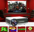 3D Android HD proyector android4.2.2 wifi retroproyector hogar digital 1280 * 800 resolución nativa apoyo proyector 3D