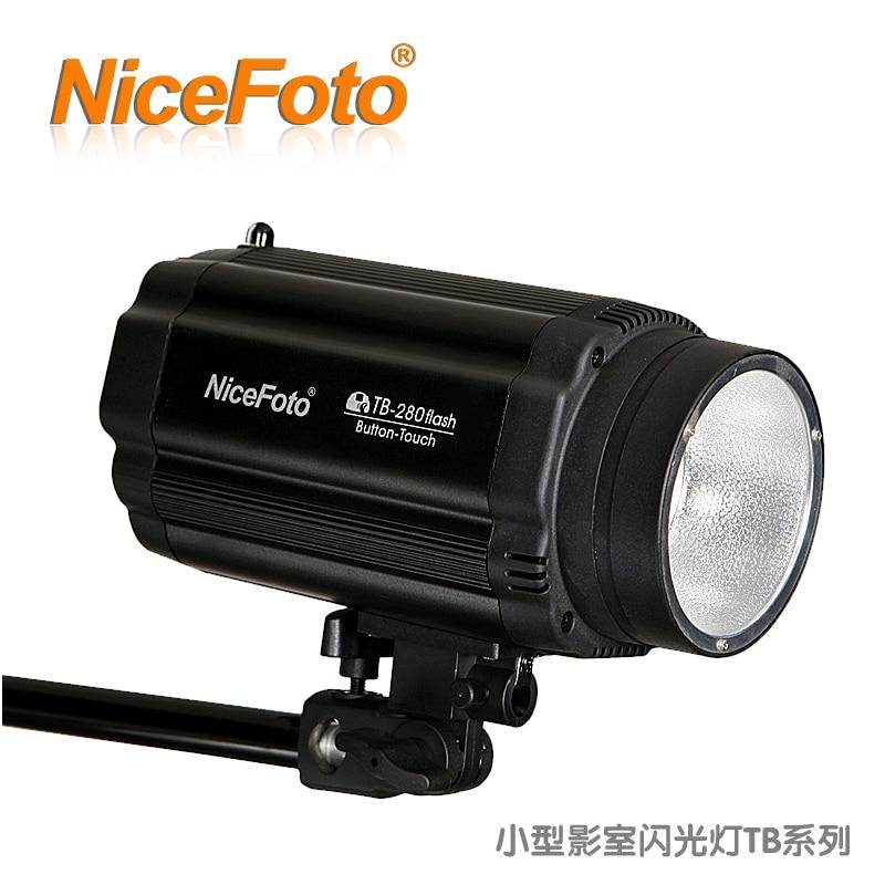 NiceFoto small studio flash tb230w flash lamp tb-230 flash lamp photography light ashanks small photography studio kit