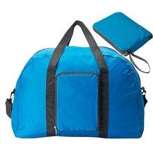 Nylon 4 Farben Wasserdichte 2016 Frauen Falten Reise Wochenende Taschen Reisetasche Gepäck 18,1×13,78×5,11 Zoll X095