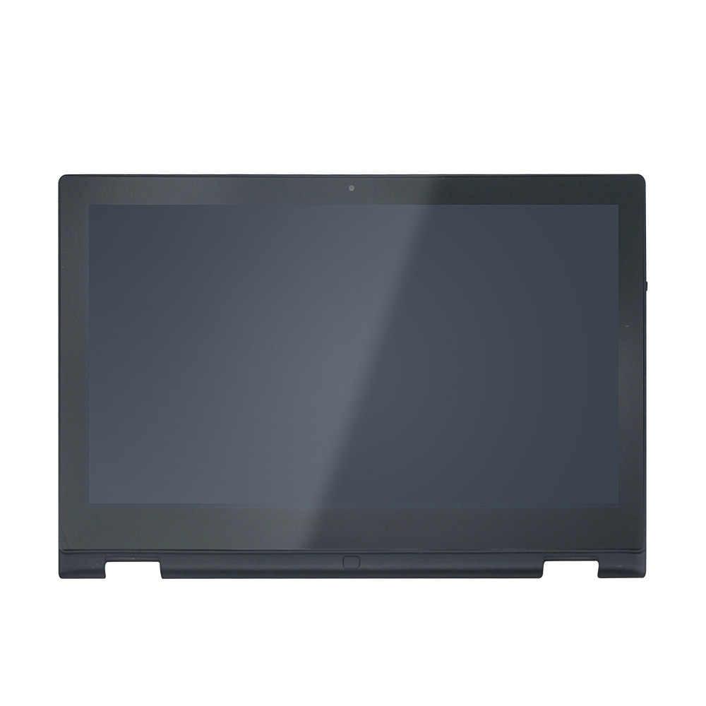 """13,3 """"Полный ЖК-дисплей с сенсорным экраном дигитайзер стекло в сборе с рамкой для DELL Inspiron 13 7347 7348 7359 P57G 1366x768"""