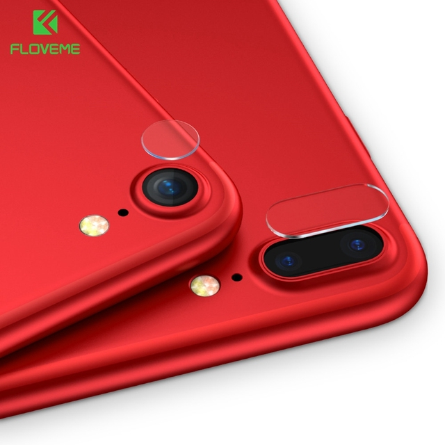 FLOVEME Phone Camera Lens Glass Film For iPhone X Xs 8 7 6s 6 Plus Ultra Thin 9H Tempered Glass