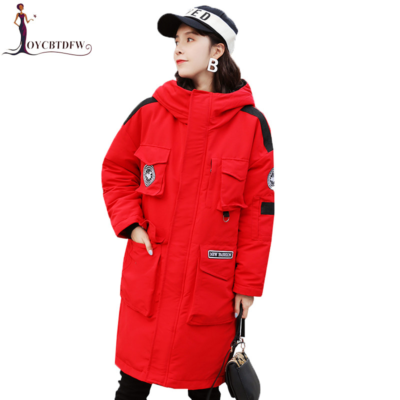 New Winter Coat Men And Women Outdoor Cold   parkas   2018 Korean Large size Men Women Jacket Winter Wind Snow Outerwear coats NO607