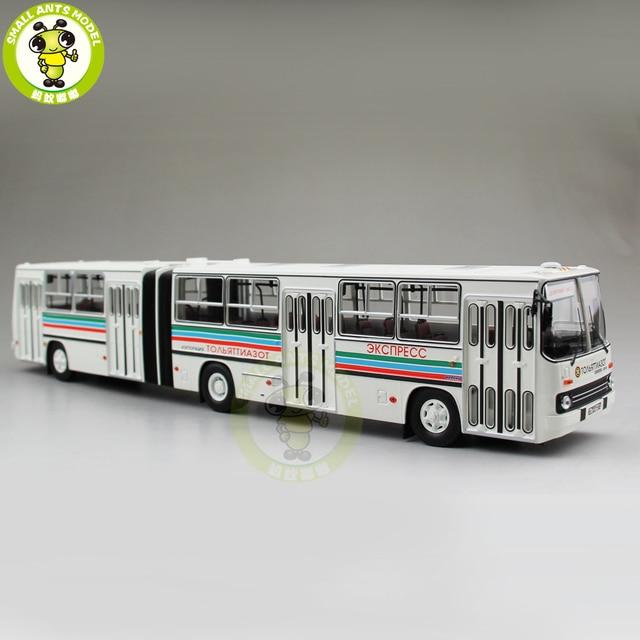 143 Ikarus 280 Sowjetischen Russland Gelenk City Bus Coach Diecast