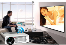 4.4 Android&WIFI Full HD LED Daytime 3D Smart Projector 5500Lumen Proyector Projektor Beamer LED86 Home Cinema Wireless Phone