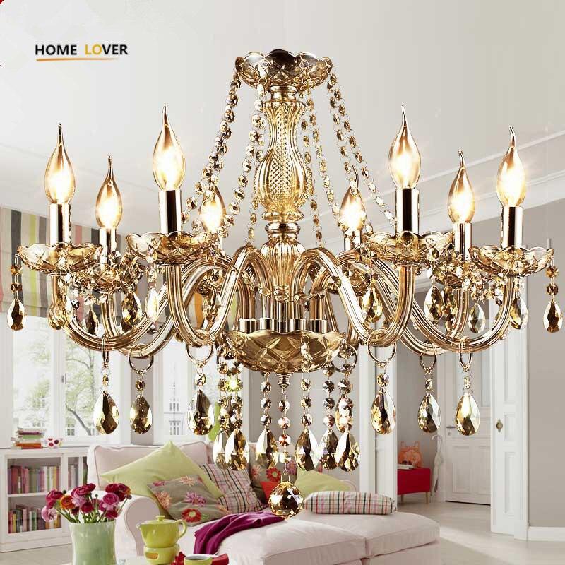Modern Crystal Chandeliers Home Lighting lustres de cristal Ceiling Decoration Chandelier Pendants Living Room Indoor candelabro