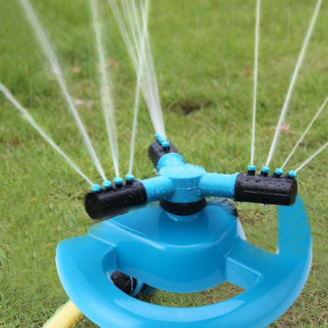 360 Degree Automatic Rotating Water Sprinkler Irrigation System
