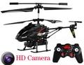 Hot venda S977 3.5 CH RC Helicóptero com câmera Drone com HD Camera Helicoptero de Controle Remoto brinquedos Eletrônicos brinquedos quadcopter