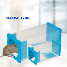 Reusable Plastic Mousetrap Rat Trap Cage Catch Control Bait Capture Rodent Animal Prevent Escape Pest Control Cage Tool