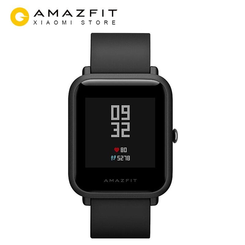 Xiaomi Huami Amazfit Bip montre intelligente gps Gloness Smartwatch Smart-montre Watchs 45 Jours Veille pour Téléphone MI8 IOS
