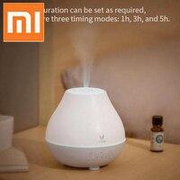 Xiaomi Mijia VIOMI Aromatherapy Diffuser Ultrasonic Humidifier 200ml Aroma Diffuser 4 Color Light Warm Mist Timed Air Humidifier