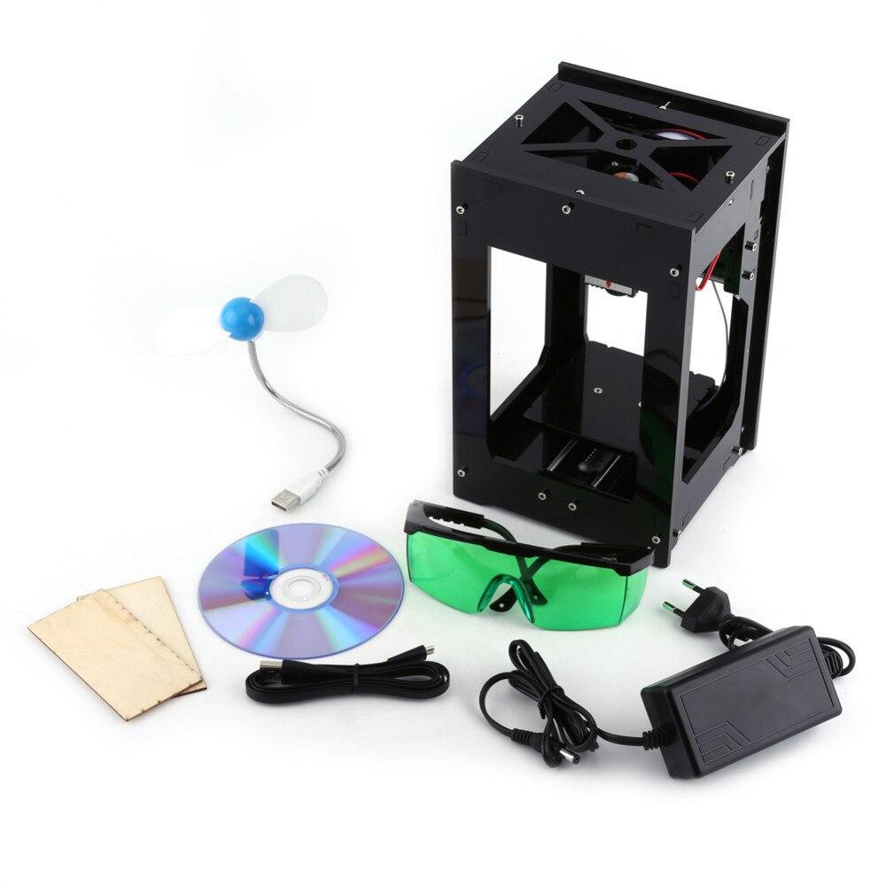 Hot Sell Laser Engraver 100-240V 2000MW Black Color Marker Cutting Machine Engraving Tool Laser Marking Machine  цены
