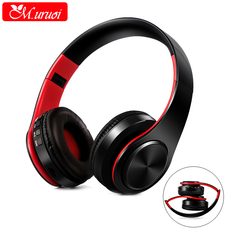M.uruoi Wireless Earphones Bluetooth Handsfree Earpiece With Microphone For Xiaomi Headset 3.5mm Music Headphones For Xomi MP3 k10 handsfree bluetooth headset wireless stereo bluetooth headphones earpiece for driver with carrying box