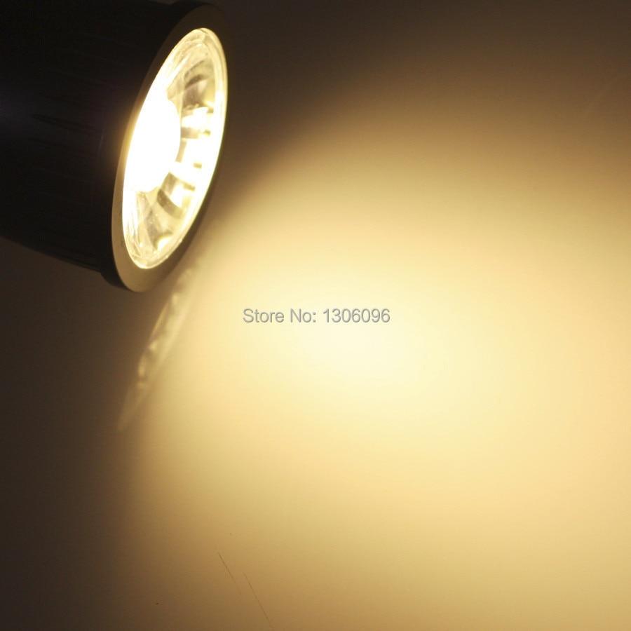 Купить с кэшбэком 10pcs/lot Free shipping GU10 spot light 5W 7W 9W COB LED High Brightness Warm White/Cool White LED Spot Light Bulb Lamp factory