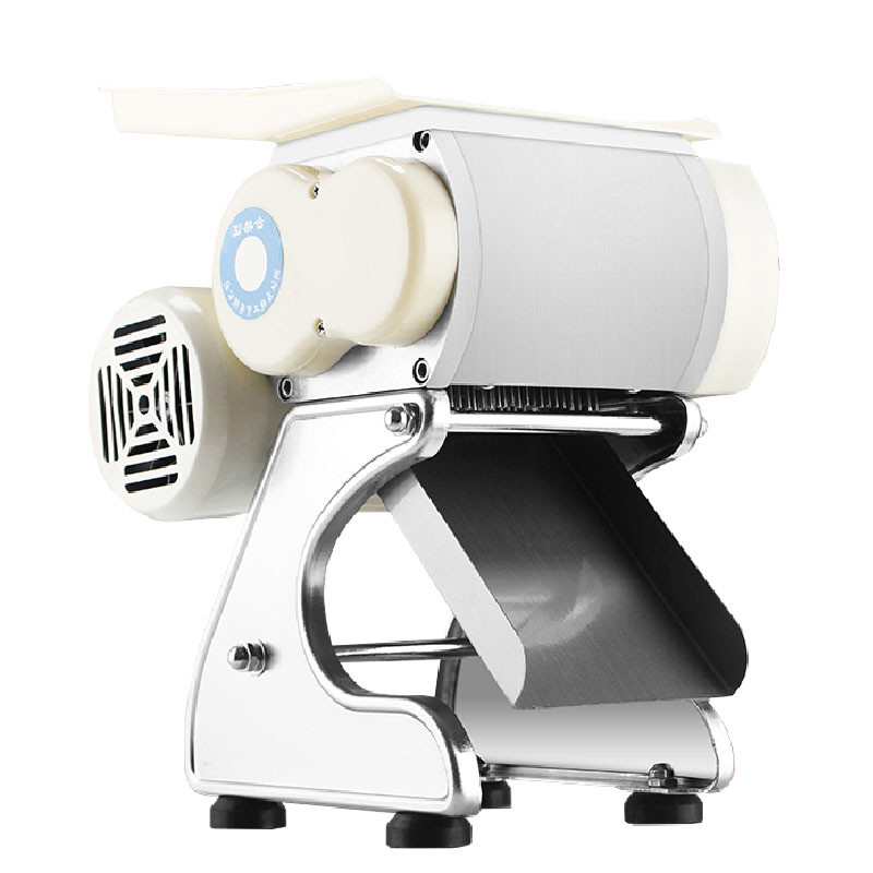 BEIJAMEI 160 kg/h Electric Commercial Meat Slicer Meat Cutting Slicing Machine Meat Shred Meat Dice Machine for restaurant цена