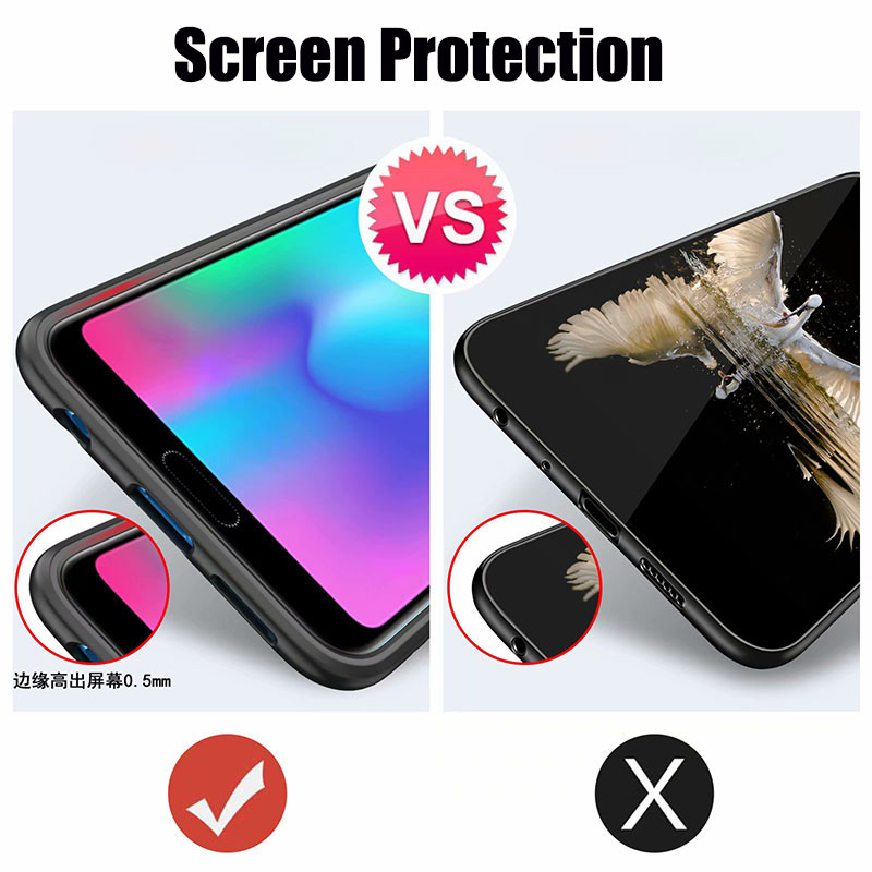 HTB1gMoiX0fvK1RjSszhq6AcGFXaY Finger Ring Kickstand Case for Huawei Honor 10 7X Play TPU Bumper Car Magnetic Acrylic Case PC Hard Cover for Honor 7X 10 Coque