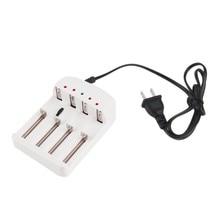 Universal 4-Slot US Plug Ni MH/Ni Zn/lithium iron Battery Charger Smart Stop