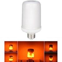 Nuevo E27 3528 SMD LLEVÓ Efecto De La Llama Fuego Emulación Parpadeo Bombillas Lámparas de Decoración para la sala de estar, bar, hotel, jardín