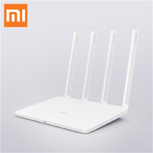 Original Xiaomi Mi WiFi 3 Router Smart Mini WiFi Repeater 4 Antennas 1167Mbps Dual Bands 128MB Flash ROM Support iOS Android APP(China (Mainland))