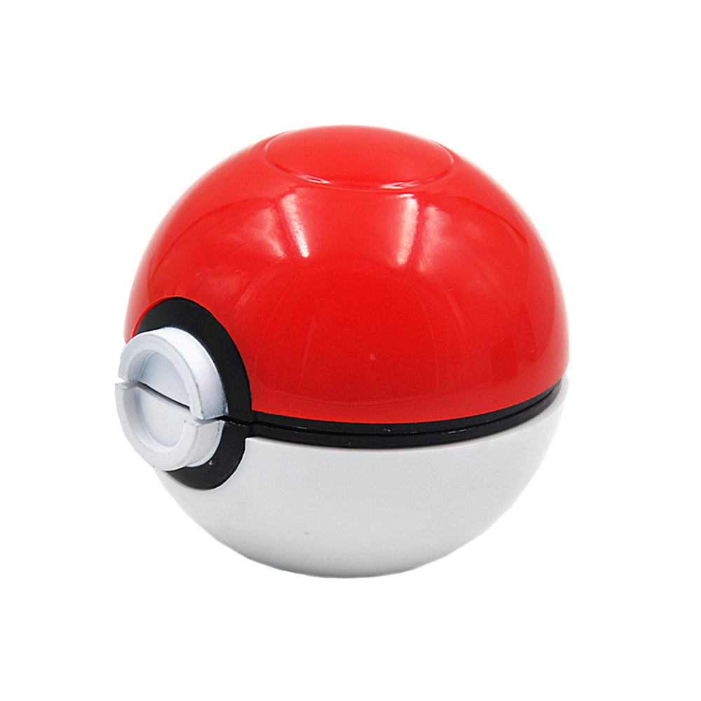 Pokeball Pokemon Herb Weed Grinder Mill Pipe Tobacco s