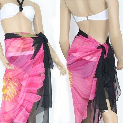Chiffon export large beach towel / bikini veil / Yaojin (black safflower paragraph) limit price