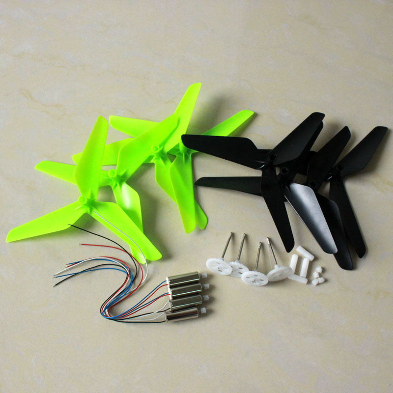 JJRC H31 RC Quadcopter drone Accessories engines motor upgrade propeller blade Principal axis Gear motor Gear set