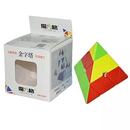 QiYi MoFangGe Plástico Pyraminx Magic Cube Stickerless Twisty Enigma do Brinquedo para Crianças e Quebra-cabeças Educativos Venda Quente