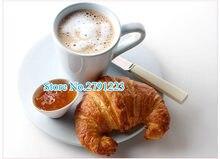 Cortador de croissant de cozinha, de alta qualidade, plástico, cortador de faca, fabricante de pão, molde, ferramenta de pastelaria doméstica