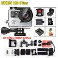 2017 New !! Eken H8 plus Ultra HD action camera 4K/30fps 1080p/120fps wifi Ambarella A12S75 Go Waterproof Mini Sport Cam Pro yi
