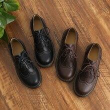 JK/Новинка года; винтажные туфли martin; Студенческая обувь для колледжа; обувь для костюмированной вечеринки; обувь на платформе для женщин и девочек; обувь на шнуровке; Размеры 35-40