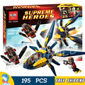 195pcs Bela 10248 Super Heroes Starblaster Showdown Model Educational Building Blocks Bricks Compatible With Lego
