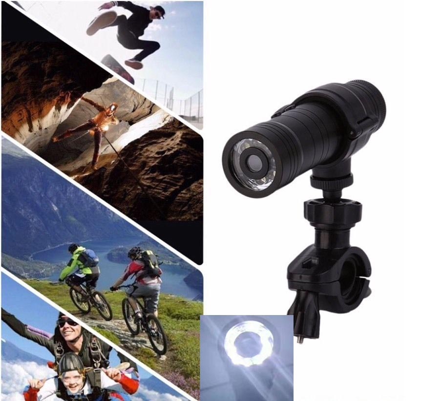 Spirited High Quality Ws10 Night Vision With Led Sport Action Camera Dv Waterproof Recorder Helmet Bright In Colour Surveillance Cameras Video Surveillance