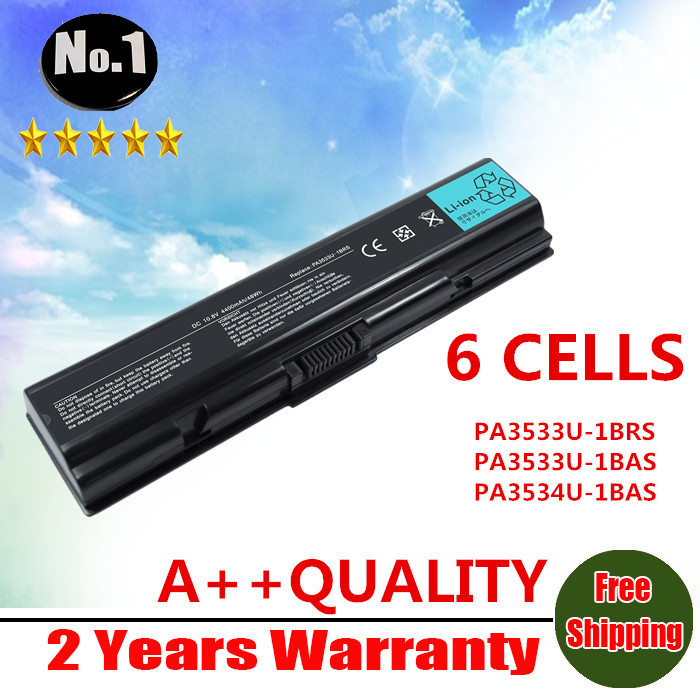 New Laptop Battery For Toshiba Satellite A200 L500 L505 L550 A505 series PABAS174 PABAS09 6-cells