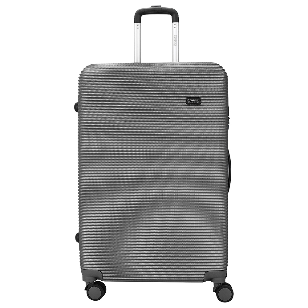 [Available from 10.11] a gray suitcase PROFI travel PH8862grey, l, a, plastic, with a built-in scale, on wheels