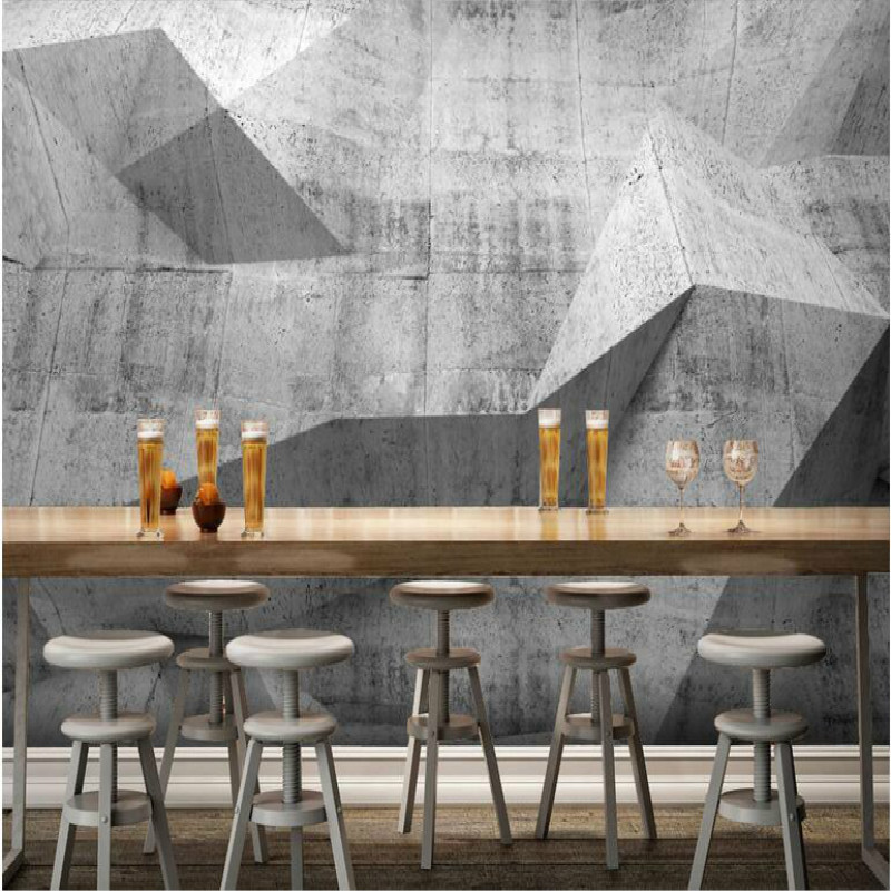 Retro nostalgia industrial feng shui wall large fresco 3D wallpaper living room bedroom 3D wallpaper painting tv wall backdrop into the wild nostalgia retro classic movie kraft poster painting core 51x35 5cm