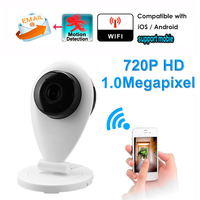 New CCTV Wifi Baby Monitor Wireless IP Camera P2P HD 720P Wireless Network Security Smart Home