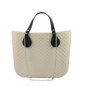 Image 5 - Tanqu新ショートカラフルなフラットpuベルトドロップエンドobagと長鎖ハンドルoの女性のバッグハンドルバッグevaバッグ