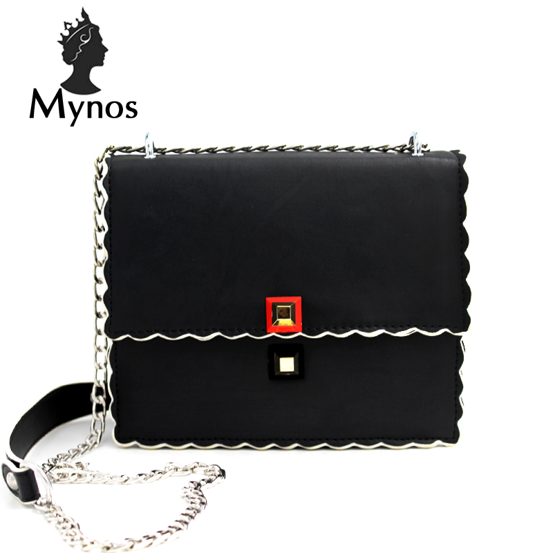 MYNOS Luxury Handbags Women Bag Designer Women Messenger Bags Leather Crossbody Bags For Women SAC A MAIN Femme Tote Bag Ladies набор эм 3 пр анжелина 1 988721