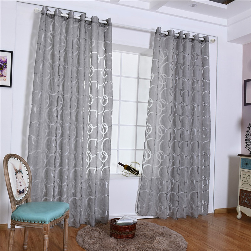 2019 Hot Sale Tulle Living Room Kitchen Modern Curtain