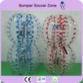 Envío Gratis, Dia 1.2 m PVC Burbuja de Fútbol Pelota de Fútbol para Niños, Bola Del Zorb, inflable bola de hámster humano, Bola de parachoques