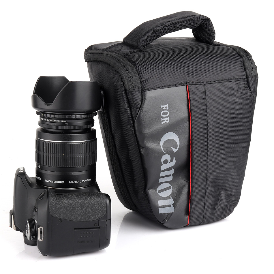 Impermeable bolso para cámara Canon 1300D 1100D 1200D 100D 200D DSLR EOS Rebel T3i T4i T5 T5i T3 600D 700D 760D 750D 550D 500D