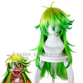 80cm New Anime Nanbaka Wig Nico Cospaly Wigs Long Green Synthetic Hair Peruca Cosplay Wigs