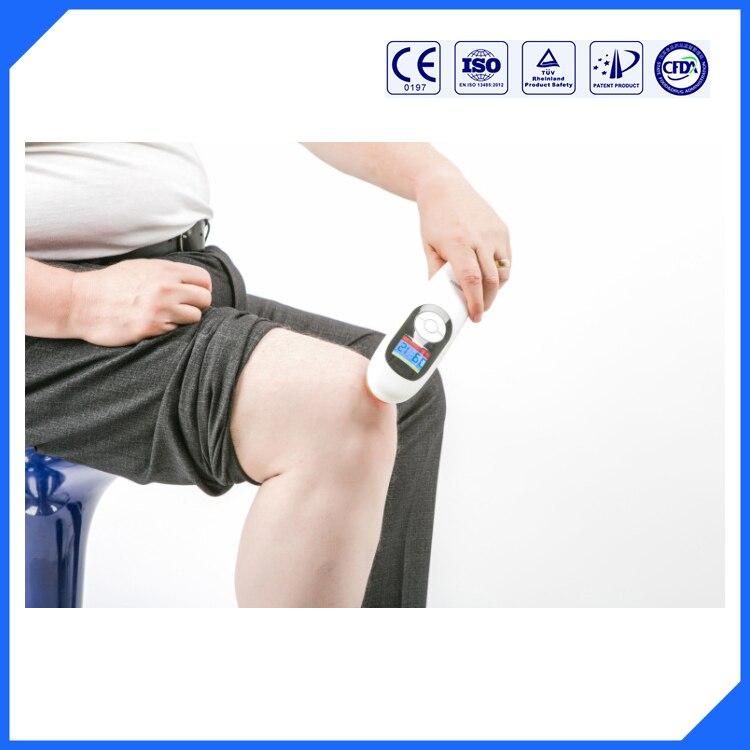 LASPOT 650nm и 808nm холодной лазерной физиотерапии Handy вылечить устройства спине/боль в шее/плеча боли