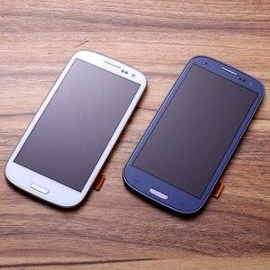 Image 4 - I9300 LCD Per SAMSUNG Galaxy S3 i9300i Display Dello Schermo con Cornice di Ricambio Per SAMSUNG Galaxy S3 LCD i9301 i9308i i9301i