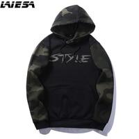 LIESA Sweatshirts Men S Hoodies Camouflage Streetwear Hoodie Men Sweatshirt Hip Hop Mens Clothing Women Men