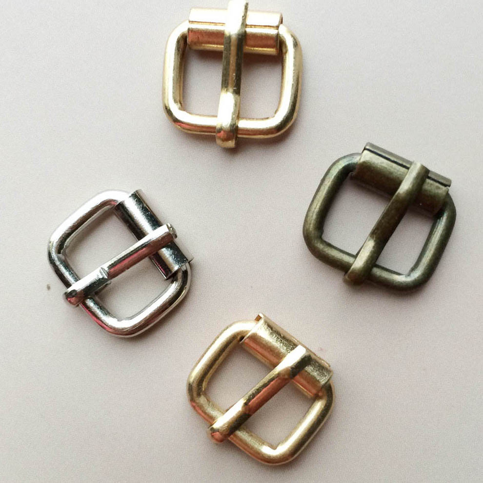 10mm Heavy Duty Hand Bag Shoe Strap Belt Web Adjust Roller Pin Buckle - Τέχνες, βιοτεχνίες και ράψιμο